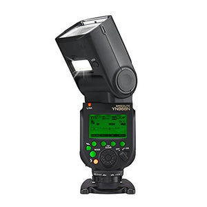 YN968N Wireless Camera Flash for Nikon - With LED Lighting