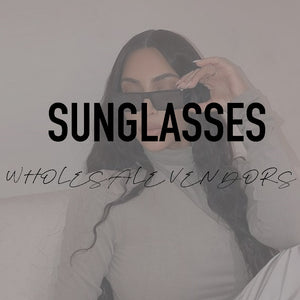 Sunglasses Vendors List