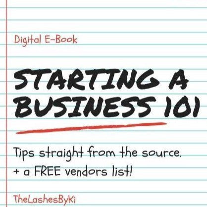 Start Your Own Business Guide + VENDOR LIST