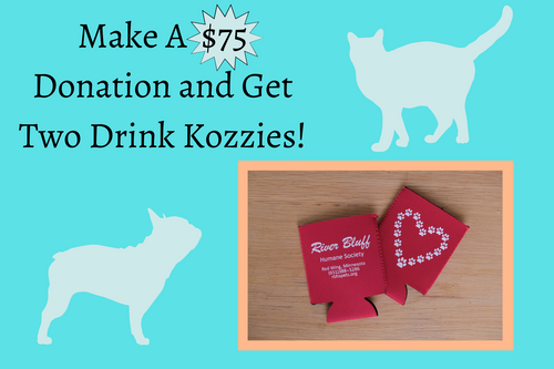 $75 Donation w/ Two Drink Kozzies