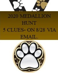 2020 Medallion Hunt $20.00 Donation.