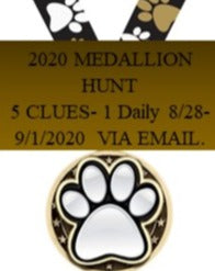 2020 Medallion Hunt $10.00 Donation.