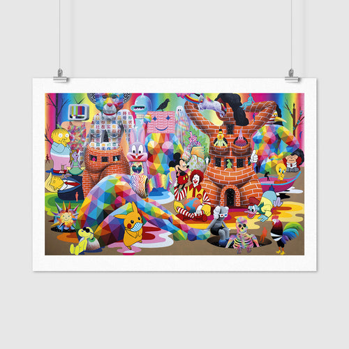 "Limited edition ""Quarantine Dreams"" digital print on fine art paper"