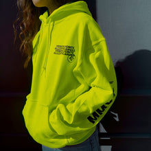 Load image into Gallery viewer, MMXX - Neon Yellow Hoodie