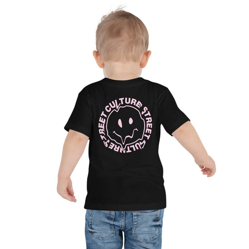 Be Happy Kiddo T-Shirt - Black
