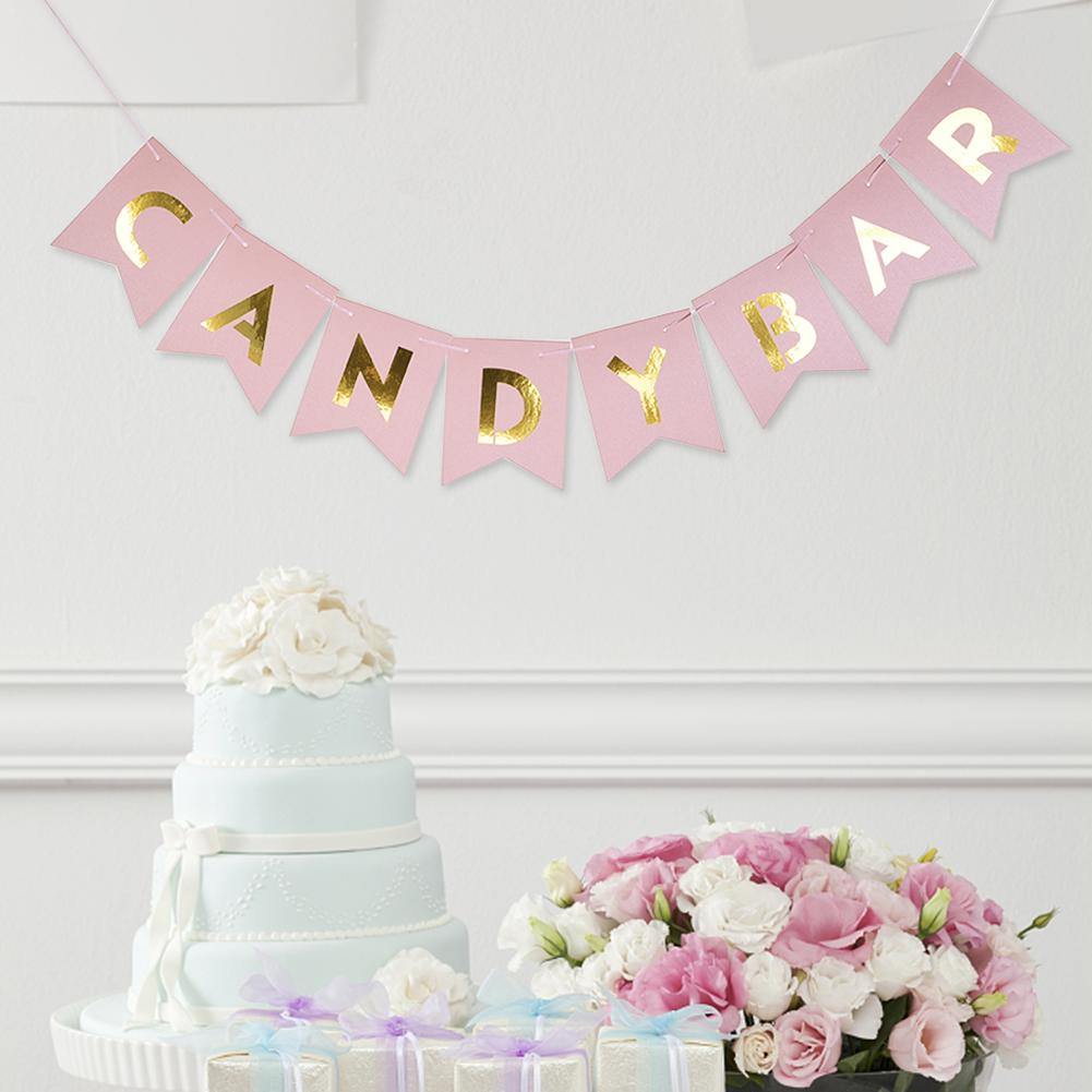 Banderole « Candy Bar »