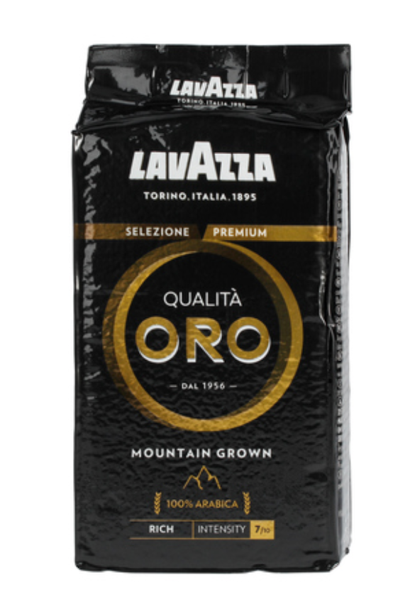 Lavazza Qualita Oro Mountain Grown 250g kaffebønner