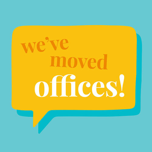 We've Moved Offices!