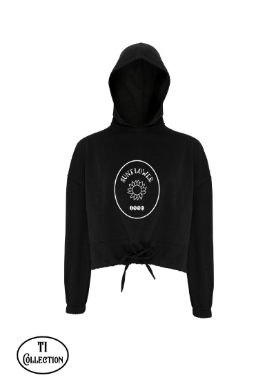 Sunflower 98- Cropped Oversized Hoodie