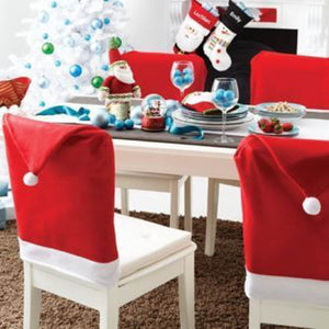 Christmas Chair Back Cover decoracion