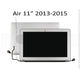 "Macbook Air 11""A1465 Full Complete LCD LED Screen Display Assembly 2013-2015 MD711 MJVM2 EMC2631 EMC2924"