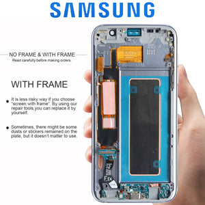 ORIGINAL 5.5'' LCD with Frame for SAMSUNG S7 edge Pantalla G935F G935FD Touch Screen Digitizer Assembly