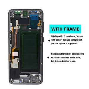 Original LCD For Samsung Galaxy S8 plus G950 G950F G955fd G955F G955 Lcd Display With Touch Screen Digitize