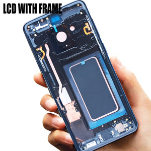 ORIGINAL AMOLED Replacement for SAMSUNG Galaxy S9 Plus LCD Touch Screen Digitizer with Frame G960 G965 display