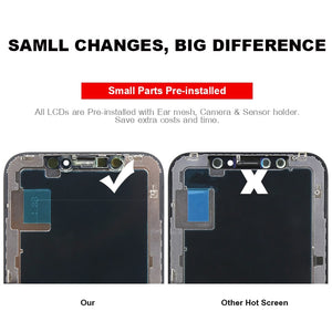 iPhone XS  LCD OEM Quality Display For Touch Screen Assembly Full LCD Screen Replace