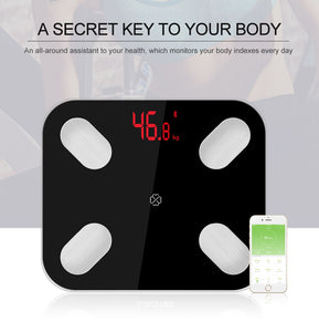 Smart Body Fat Scale Floor Scientific Smart Electronic LED Digital Weight Bathroom Balance Bluetooth APP Android or IOS