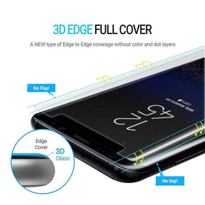 Tempered Glass High-tech Ultra-thin UV Glue For Samsung S8/S9/Note 8 Note 9 Bend Edge Cover Huawei Mate 20 /20 Pro Screen Protector Transparent Film