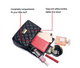 Women Quilted Crossbody Bag Girls Side Purse and Shoulder Handbags