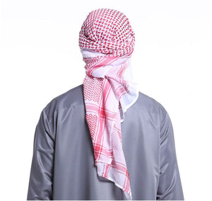 Muslim Men Prayer Hat/Cap Saudi Arabia Men Scarf Islam Turban Ramadan Pray Caps 140*140 CM