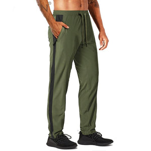 TACVASEN Summer Quick Dry Jogger Pants Men's Outdoor Athletic Lightweight Sweatpants Loose Fit Bodybuilding Fitness Gym Trousers