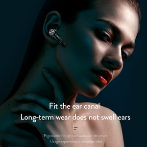 ESEED EST tws wireless headphones bluetooth 5.0 50 hours 1200mah battery storage earphone lPX4 waterproof for iphone android