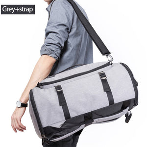 40L Men Backpack 15.6 Laptop bag Shoes Backpack Travel Sports Fitness Bags For Women Teenagers School Bagpack Rucksack