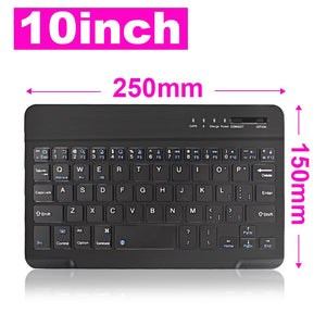 Wireless Keyboard Mini Bluetooth Keyboard for iPad TV Tablet Phone Keyboard Rechargeable Support IOS Windows Andriod
