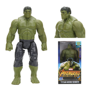 Hasbro Marvel Toys The Avenger Endgame 30CM Super Hero Thor Hulk Thanos Wolverine Spider Man Iron Man Action Figure Toy Dolls