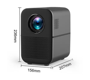 ALSTON M6 Full HD Led Projector 4000 Lumens Bluetooth Speaker home theater HDMI USB 1080p Portable Cinema Proyector Beamer