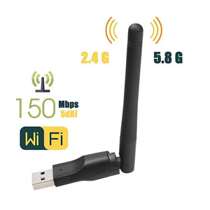 New WIFI USB Adapter MT7601 150Mbps USB 2.0 WiFi Wireless Network Card 802.11 B/g/n LAN Adapter With Rotatable Antenna