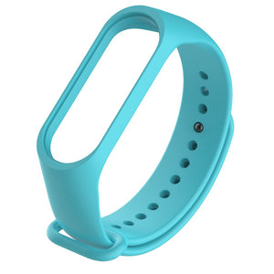 Colorful Mi Band 4 Accessories Pulseira Miband 4 Strap Replacement Silicone Wriststrap For Xiaomi Mi4 Smart Bracelet Wristband