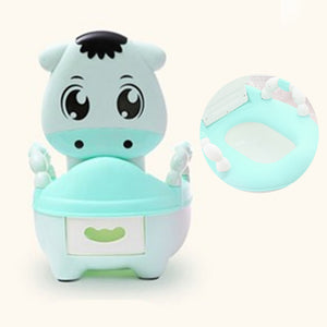Baby Potty Seat Kids Urinal Cushion Toilet Portable Multifunction Travel Chair Pots Children's Urinal Training Cute Safety Potty