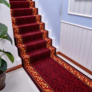 Luxury Modern Hallway Carpet Stair Mat Hotel Floor Mats for the Corridor Polypropylene Carpets and Rugs can be Customized