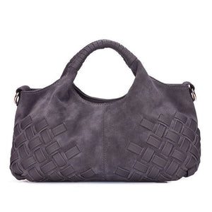 Newest Latest Women  Split Leather Handbag Female Leisure Casual Lady Crossbody Shoulder Bag Messenger Top-handle Bags Sac