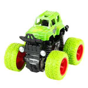 Four-Wheel-Drive off-Road Vehicle Children Simulation Model Car Anti-Shatterproof Toy Car Baby Car Model