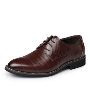 sMen shoes 20107 new fashion pu Leather lace-up business brand men dress shoes high quality wedding oxford shoes