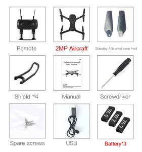 Hot Sale WIFI FPV With Wide Angle 2 MP HD Camera High Hold Mode Foldable Arm RC Quadcopter RTF VS DJI Mavic Pro