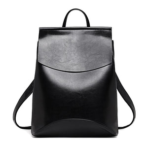 Women Backpack High Quality Youth Leather for Female School, Business Classic Shoulder Bag