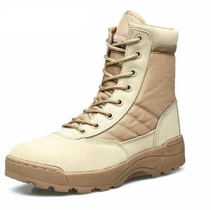 Newest Outdoor Army Boots Men's Military Desert Tactical Boot Shoes Autumn Breathable Combat Ankle Boots