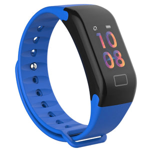 "All in 1 Colorful 0.96"" OLED Screen Waterproof Smart Bracelet With Continuous Heart Rate Monitoring Sports Fitness tracker"