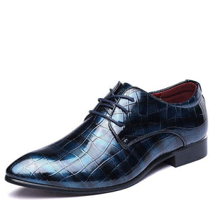 Newest Men Shoes Oxfords PU Leather For Men Wedding Bussiness Formal Party Shoes Chaussure Homme Shoes Big Size 38-48