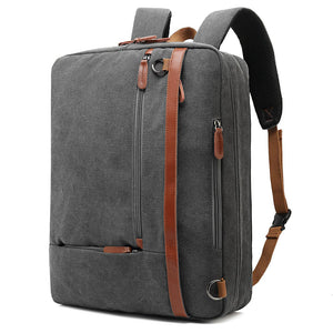 Convertible Backpack 17.3 Inch Large Capacity Computer Notebook Bag Waterproof Travel Rucksack For Men Women