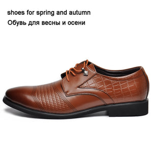 Newest Men's Flats Fashion High Quality Genuine Leather Men Dress Shoes,Summer Oxfords Spring
