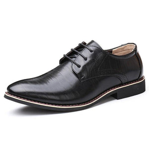 2019 Newest Men's shoes oxford leather formal office classic dress footwear shoes wedding shoes business for men zapatos hombre vestir 189