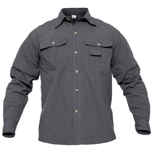 Quick Dry Shirt Men Hiking Shirt Removable Military Tactical Shirts With Pockets Hunting Shirt Fishing Shirts Outdoor