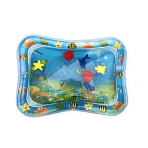 Hot Sales Baby Kids water play mat Inflatable Infant Tummy Time Playmat Toddler for Baby Fun Activity Play Center