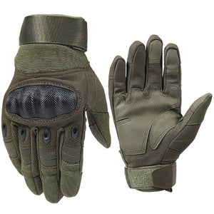 Tactical Gloves Men Military Army Full Finger Hard Shell Police Combat Gloves Paintball Airsoft Equipment AG-YWGC-01