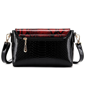 Crocodile Leather Mini Shoulder Bag Ladies Handbags Crossbody Messenger Bag for Women Snake Pattern Bags Small Evening Clutch