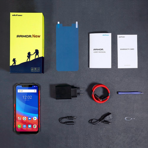 New ORIGINAL Ulefone 8Core CPU 4G LTE Dual Sim 6GB RAM+128GB ROM 21MP Samsung Camera 13MP Sony Camera  Waterproof IP68 NFC Rugged Helio P60 Android 8.1  Smartphone