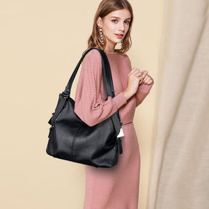 Vfemage Handbag Women Bags Designer Soft Leather Crossbody Bags Ladies Tote Bag Large Capacity Female Shoulder Bag Sac A Main